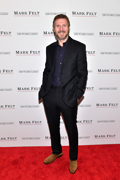 出席する「'Mark Felt The Man Who Brought Down The White House' New York Premiere」:写真・画像(3)[壁紙.com]