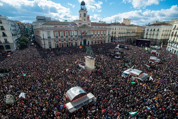 Economy「Political Party 'Podemos' March In Madrid」:写真・画像(5)[壁紙.com]