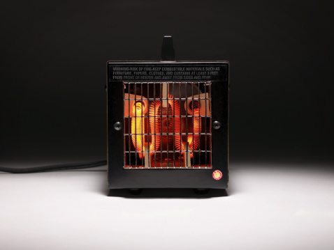 Electric Heater「Electric heater with combustible warning.」:スマホ壁紙(11)