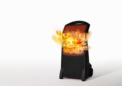 Electric Heater「Electric heater on fire」:スマホ壁紙(18)