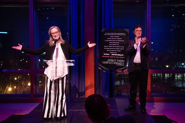 Dave Kotinsky「An Evening With Stephen Colbert & Meryl Streep」:写真・画像(6)[壁紙.com]