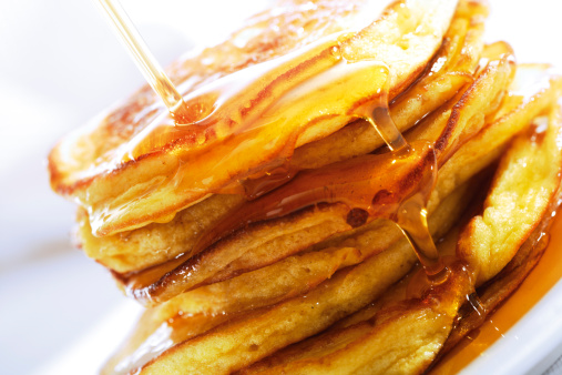 Maple Syrup「Pancakes poured with maple syrup」:スマホ壁紙(15)