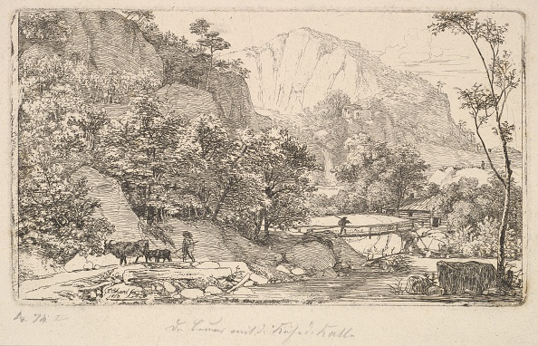 Etching「Peasant With Cow And Calf」:写真・画像(10)[壁紙.com]