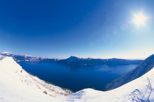 Hokkaido「Mashu Lake」:スマホ壁紙(12)