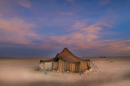 Tent「Tuareg camp in the desert near Ichmid」:スマホ壁紙(15)