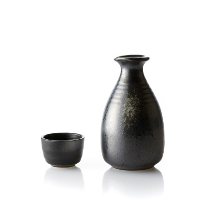 Sake「Sake decanter and cup」:スマホ壁紙(13)