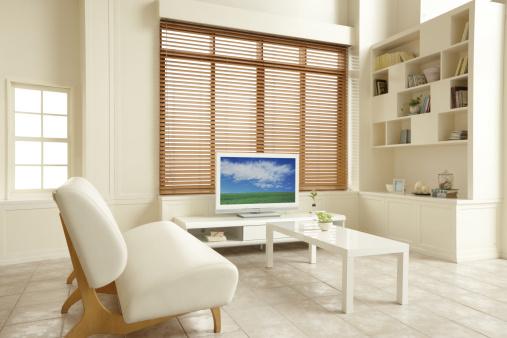 Japan「Liquid crystal TV is in the living room. 」:スマホ壁紙(2)