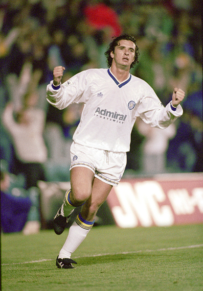 Club Soccer「Gary Speed Leeds United v VFB Stuttgart Champions League 1992」:写真・画像(10)[壁紙.com]