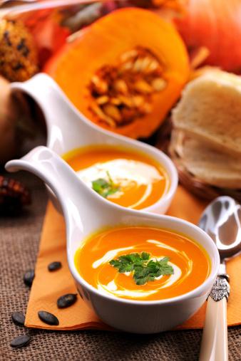 Hokkaido「Pumpkin soup with creme fraiche」:スマホ壁紙(17)