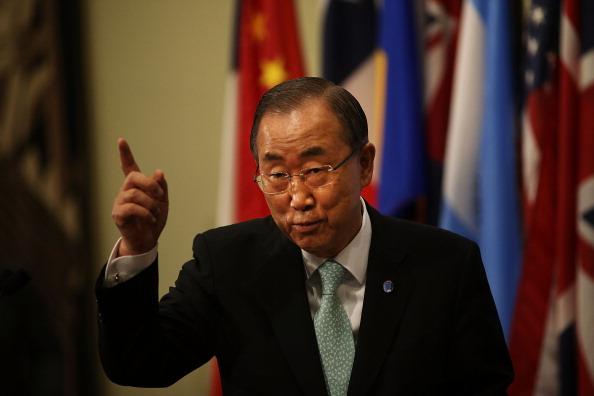Secretary-General「UN Secretary-Genera; Discusses Situation In Middle East」:写真・画像(18)[壁紙.com]
