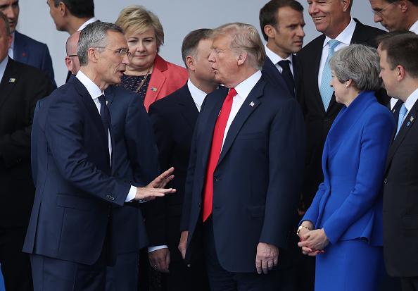 Secretary-General「World Leaders Meet For NATO Summit In Brussels」:写真・画像(0)[壁紙.com]
