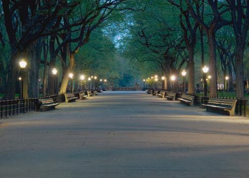マンハッタン セントラルパーク「セントラルパークモール」:スマホ壁紙(12)
