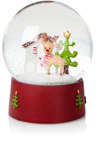 Animal Representation「Childs toy Christmas snow globe」:スマホ壁紙(11)