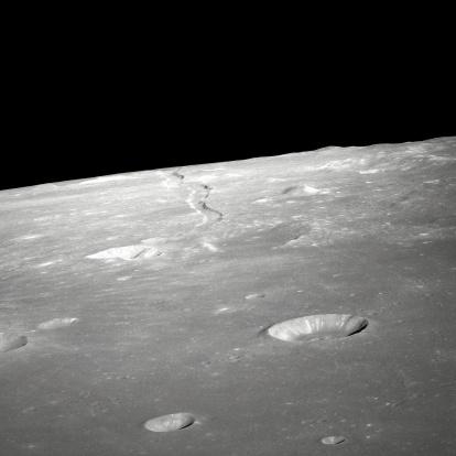月「'A high forward oblique view of Rima Ariadaeus on the Moon, as photographed by the Apollo 10 astronauts in May of 1969. '」:スマホ壁紙(12)