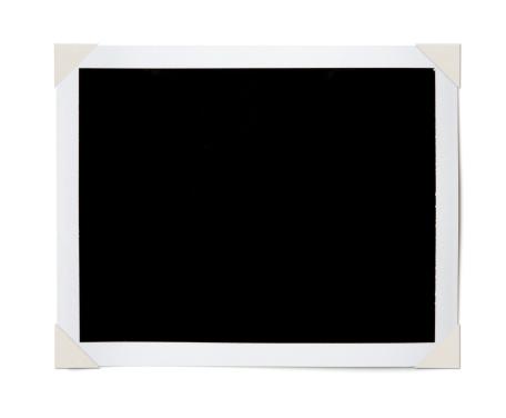 Frame - Border「Black Photo Corners」:スマホ壁紙(1)