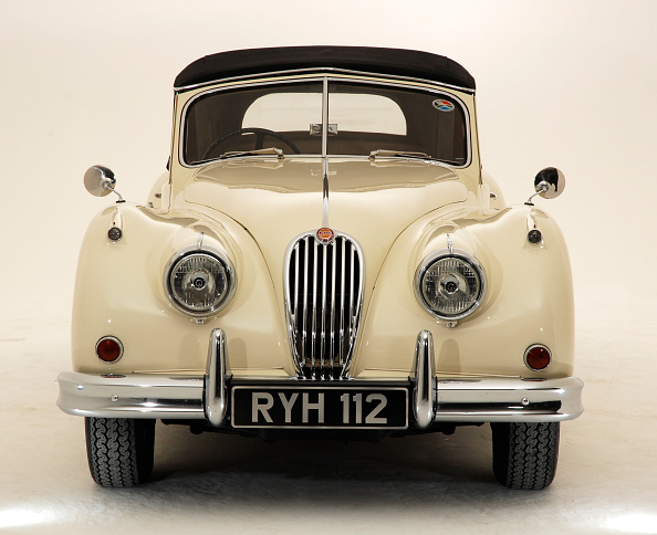 Vintage Car「1955 Jaguar XK140」:写真・画像(15)[壁紙.com]