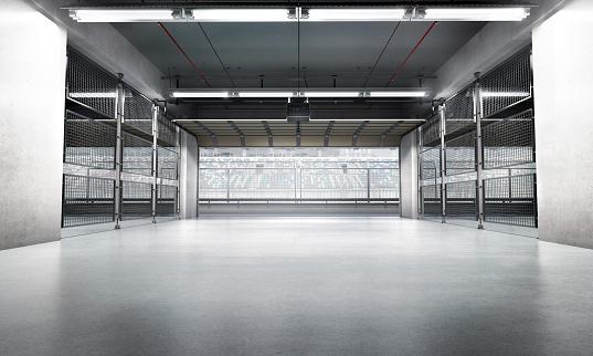 Parking Lot「Empty Pit Garage」:スマホ壁紙(0)
