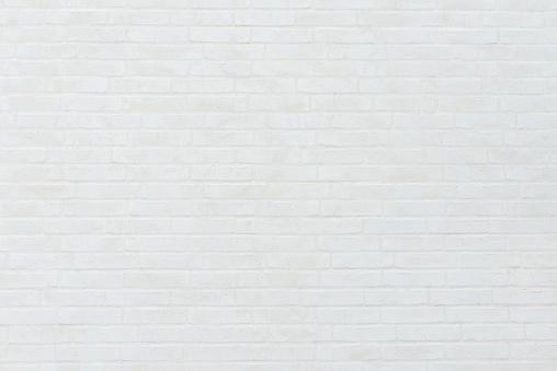 Brick Wall「White Brick Wall」:スマホ壁紙(18)