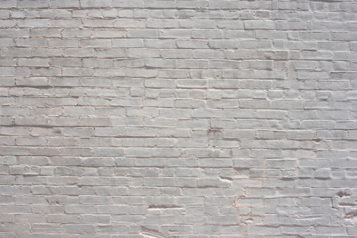 Brick Wall「White Brick Background Wallpaper Pattern」:スマホ壁紙(0)