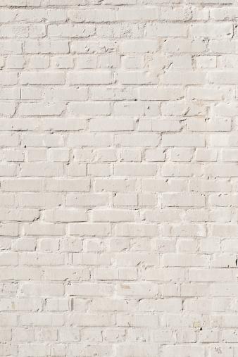 Brick Wall「White Brick Wall Background - XXXL Photo」:スマホ壁紙(16)