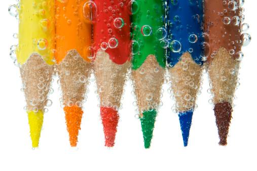 Rainbow「Watercolor. bubbled crayons」:スマホ壁紙(8)