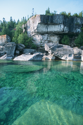 Bruce Peninsula National Park「Georgian bay cliffs」:スマホ壁紙(7)