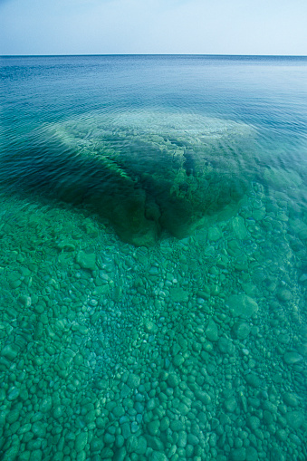 Bruce Peninsula National Park「Georgian bay clear water」:スマホ壁紙(9)