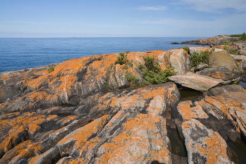 Bruce Peninsula「Georgian bay rock formations」:スマホ壁紙(11)