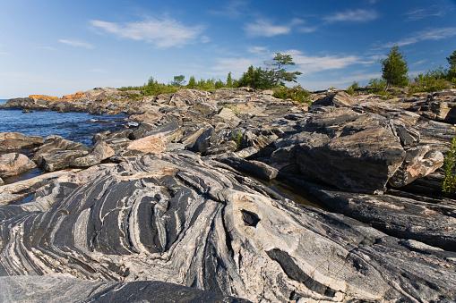 Bruce Peninsula「Georgian bay rock formations」:スマホ壁紙(14)