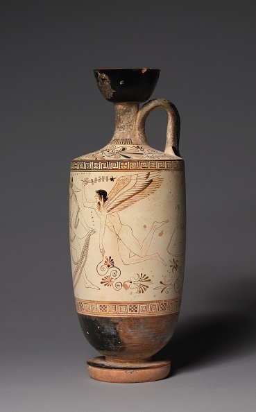 Vase「The Atalanta Lekythos (Funerary Oil Jug)」:写真・画像(11)[壁紙.com]