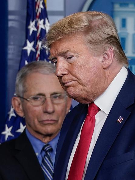 縦位置「White House Coronavirus Task Force Holds Daily Briefing」:写真・画像(17)[壁紙.com]
