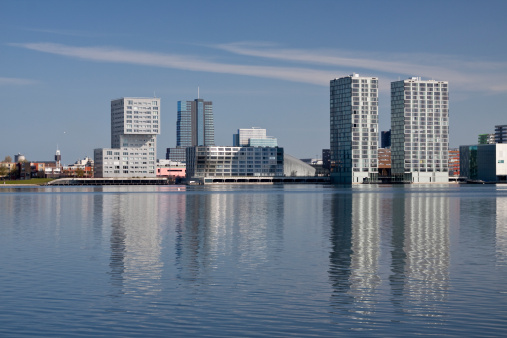 Amsterdam「Almere, The Netherlands Skyline」:スマホ壁紙(15)