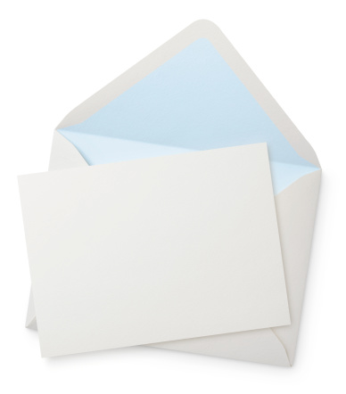 Envelope「Envelope with blank note」:スマホ壁紙(10)