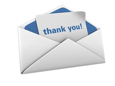 Digital Composite「Envelope with Thank You Word」:スマホ壁紙(13)