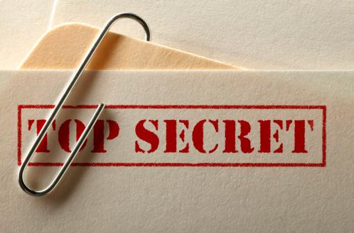 Letter - Document「Top Secret File」:スマホ壁紙(11)