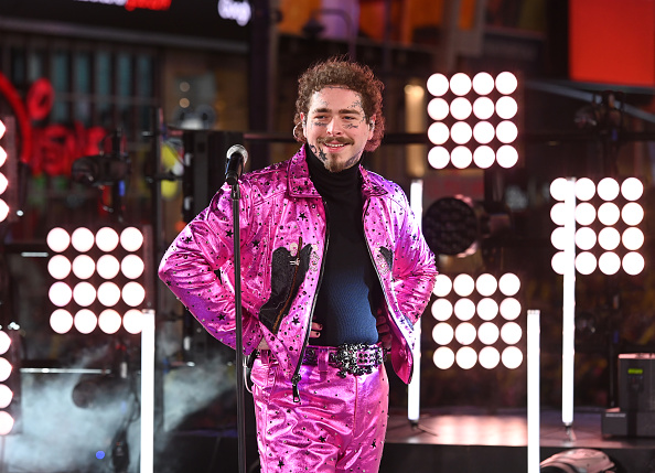 Post Malone「Times Square New Year's Eve 2020 Celebration」:写真・画像(19)[壁紙.com]