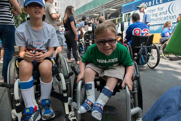 Disability「New York City Hosts First Annual Disability Pride Parade」:写真・画像(1)[壁紙.com]