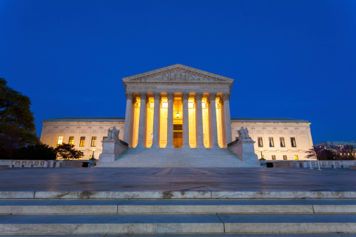 US Supreme Court Building「Equal justice under law」:スマホ壁紙(9)