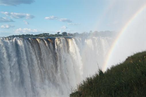 Double Rainbow「Zambia, Zambezi River, Victoria Falls, rainbow over Eastern Cataract」:スマホ壁紙(18)