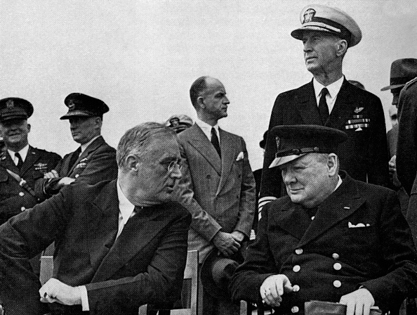 Franklin Roosevelt「Architects of Victory: Historic meeting between Churchill and Franklin D」:写真・画像(6)[壁紙.com]