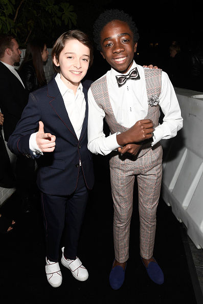 Noah Schnapp「Entertainment Weekly Celebrates SAG Award Nominees at Chateau Marmont sponsored by Maybelline New York - Arrivals」:写真・画像(5)[壁紙.com]