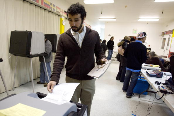 Machinery「California Voters Participate In The State's Pivotal Primary」:写真・画像(10)[壁紙.com]