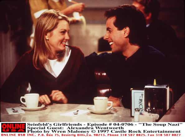 Arts Culture and Entertainment「Seinfeld's Girlfriends Episode #04 706 The Soup Nazi Special Guest: Alexandra Wentworth 1997 C」:写真・画像(16)[壁紙.com]