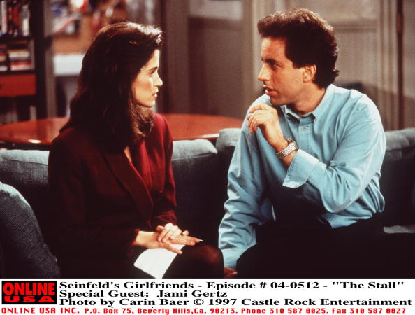 Arts Culture and Entertainment「Seinfeld's Girlfriends Episode #04 512 The Stall Special Guest: Jami Gertz 1997 Castle Rock En」:写真・画像(17)[壁紙.com]