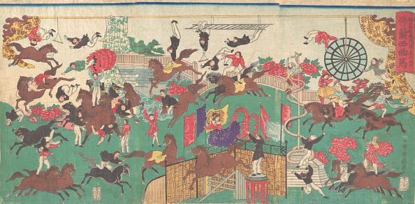 Balance「French Equestrian Circus On The Grounds Of Asakusa Kannon Temple (Asakusa Kannon Keidai Ni...」:写真・画像(16)[壁紙.com]