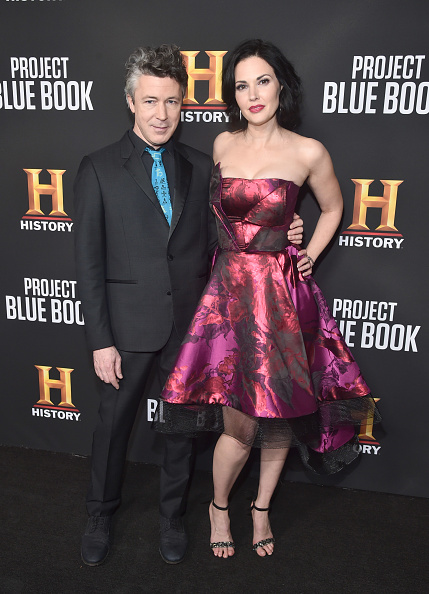 """Strapless Dress「Premiere For History Channel's """"Project Blue Book"""" - Red Carpet」:写真・画像(16)[壁紙.com]"""