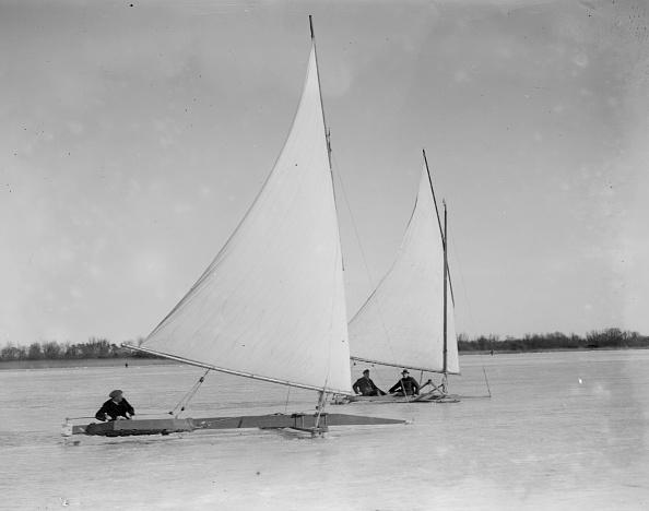Norfolk Broads「Ice Yachting」:写真・画像(1)[壁紙.com]