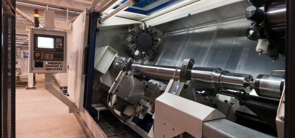 Mill「CNC machining tool.  Modern industrial lathe.」:スマホ壁紙(2)