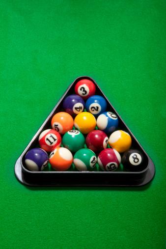 Sports Target「Pool balls in rack」:スマホ壁紙(9)
