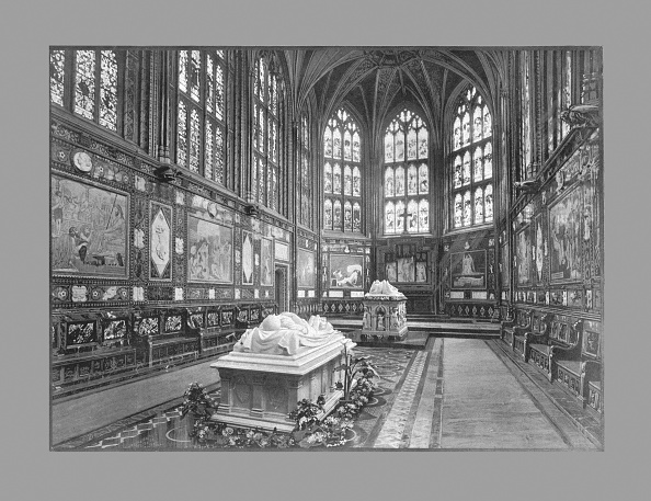 Mausoleum「The Albert Memorial Chapel, Windsor, C1900」:写真・画像(11)[壁紙.com]